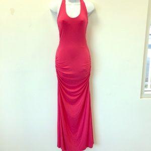 Sky maxi dress pink